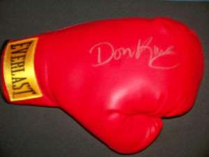 Don King Signed Boxing Glove w/COA