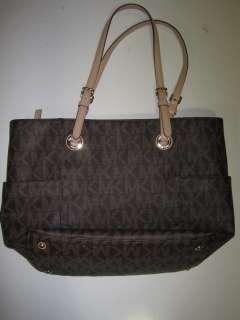 Michael Michael Kors womens E/W Signature tote handbag $198