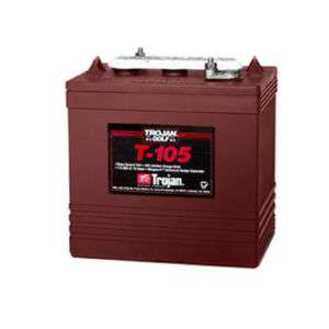 Trojan T 105 Flooded Lead Acid GC2 Deep Cycle Battery