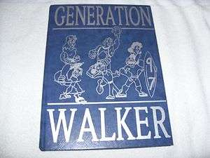 1997 Walker Jr High School Yearbook La Palma California
