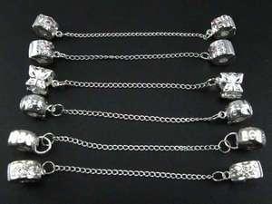 Wholesale mix 30pcs Safety chain Stopper Clip&Lock ☆b56