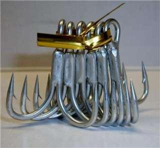 Owner Stinger 4X Treble Hooks 1/0 ST 66TN (6 Hooks)