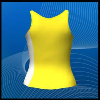 Womens Athletic Sports Workout Exercise Sleeveless Tank Top