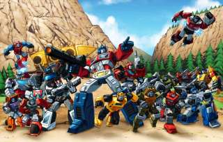 Transformers Autobots 84 teamshot, Dinobots, Rodimus Prime