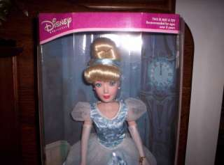 DISNEY PRINCESS CINDERELLA DOLL WITH BOX