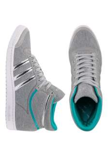 ADIDAS Top Ten Hi Sleek Textile frontlineshop Basketball Schuhe grau