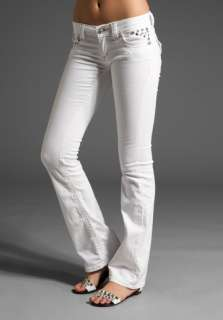 MISS ME JEANS Boot Cut in White
