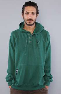 LRG Core Collecion he Core Collecion Hooded Henley in Fores