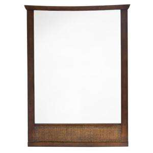 American Standard Tropic 31 in. x 23 1/4 in. Framed Wall Mirror in