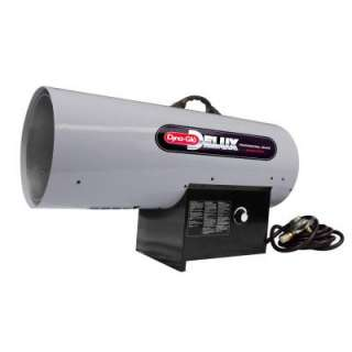 Dyna Glo Delux 300k BTU Propane Forced Air Heater with Thermostat RMC