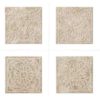 MARAZZI Montagna Lugano 6 In. X 6 In. Porcelain Embossed Deco (Receive