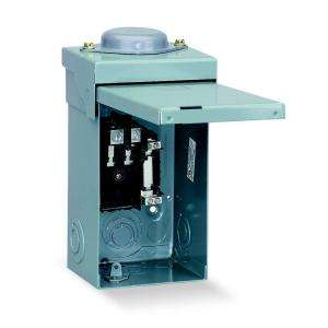 Square D by Schneider Electric QO 40Amp 2 Space 2 Circuit Outdoor Main