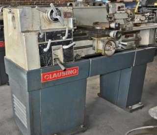 CLAUSING 1300, 1301 Metal Lathe Op/Parts Manual