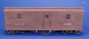 On3/On30 WISEMAN RIO GRANDE SOUTHERN OUTFIT CAR #01885