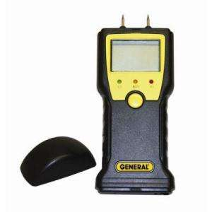 Moisture Meter from General Tools  The Home Depot   Model# MMD4E