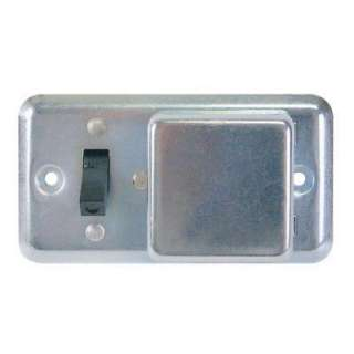 Series 2 1/4 in. Fuse Box Cover with Switch BP/SSU