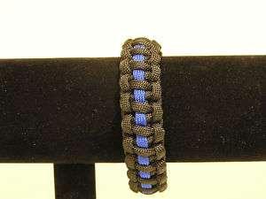 THIN BLUE LINE 550 SURVIVAL BRACELET