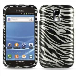 White Zebra Hard Cover Case For Samsung Galaxy S II 2 T989 T Mobile w