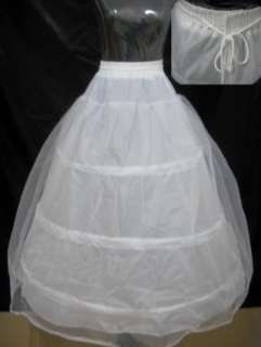 White and Red Bride Bridal Gown Wedding Dress Stock Size 6 16