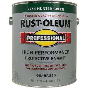 Rust Oleum Professional Gloss Hunter Green 1 Gallon Oil Based Enamel
