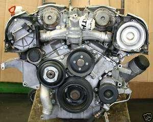 Mercedes Benz Motor S600 CL600 SL 600 600SEC M120 V12