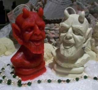 Silicone Devil Candle Mold