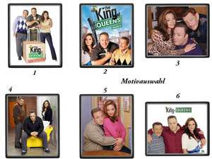 King of Queens  Leah Remini, Kevin James, J. Stilerl   XXL Mauspad zur