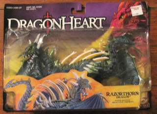 DRAGONHEART Razorthorn MOSC DRAGON HEART Razor Thorn Dragon action