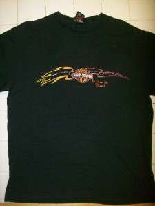 Used Mens HARLEY DAVIDSON Delaware Short Sleeve T Shirts Large