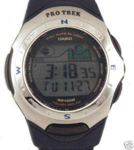 BRAND N MEN CASIO PROTREK TOUGH SOLAR WATCH PRS201B 2V