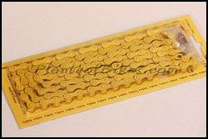 Yellow Color Single Speed Fixie BMX Bike Bicycle Chain