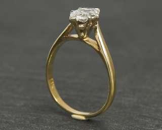 bezaubernder Ring mit einem 0,85ct Diamanten, TW/SI