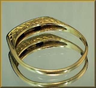 Antiker Saphir Ring 3 Altschliff Diamanten 750 Gold