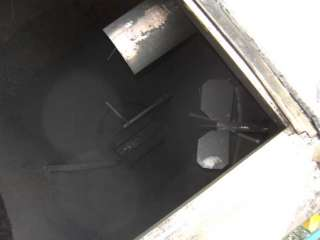 10 CU FT STAINLESS STEEL CONICAL HOPPER