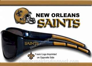 NEW ORLEANS SAINTS SUNGLASSES   NFL SHADES COOL NFL GIFT NEW STYLE HOT