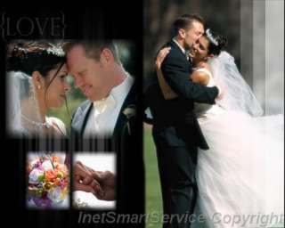 MultiLayered PSD Wedding Album Templates 4 Photoshop V7