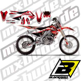 Blackbird Krypton Dekor Honda CRF 450 250 Aufkleber kit