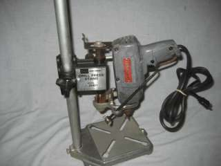 Vintage Craftsman 1/4 Drill w Drill Press Model 25921