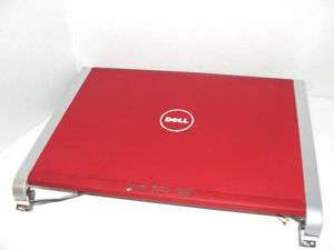 DELL XPS M1330 RW486 RED LCD COVER W/HINGE CCFL [B]