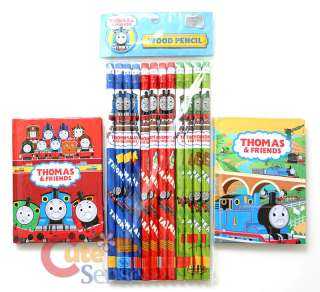 Thomas Tank Engine and Friends Note and Pencil Stationery Set