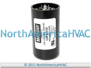Mallory Motor Start Capacitor 108 130 MFD uf 330 VAC