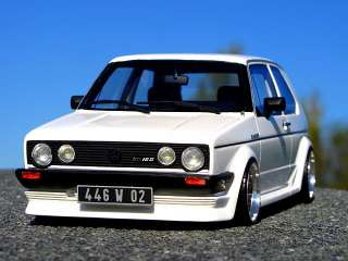 VW GOLF 1 GTI 16V OETTINGER BBS RS ECHTALU FELGEN 118 TUNING