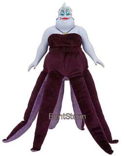 NEW Disney Store Little Mermaid Ursula Octopus Evil Witch DOLL