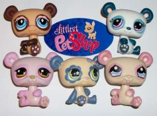 LOT~#899 574 658 1328 1021 BLUE FLOWER~Littlest Pet Shop S37