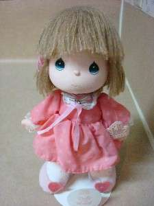 Vintage Applause 1988 Precious Moments Collector Doll Wth Stand 11