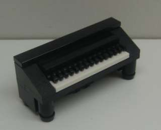 CUSTOM LEGO PIANO LOT town city music unique furniture house black for