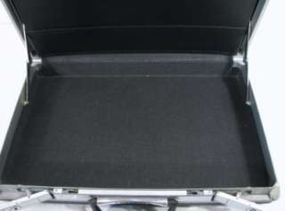 Mid Century Mad Men Slim Line Samsonite Briefcase Hard Shell Spy Case