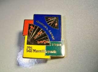 1998 NAGANO OLYMPICS MERRILL LYNCH JAPANESE FANS