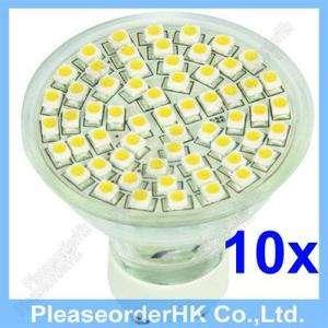 60LED SMD 3528 Bulb Lamp Light Club Hotel NO UV Spotlight Spot