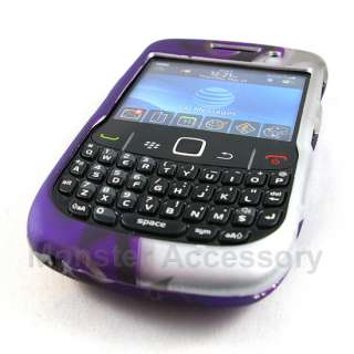 Purple Flowers Hard Case Cover Blackberry Curve 3G 9300